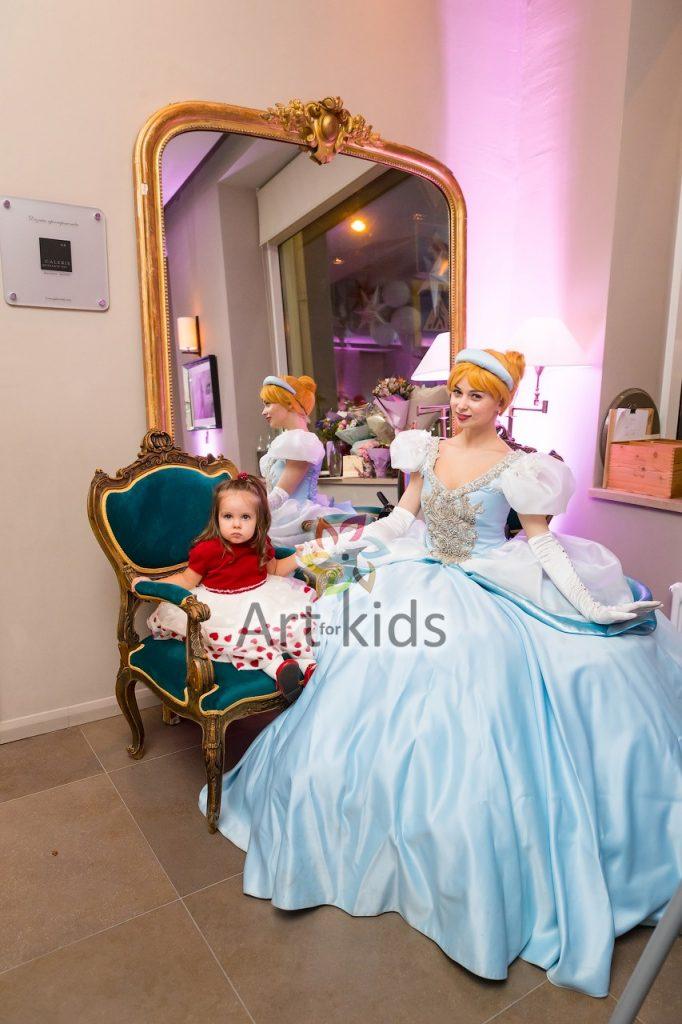 Детский праздник с принцессами Диснея