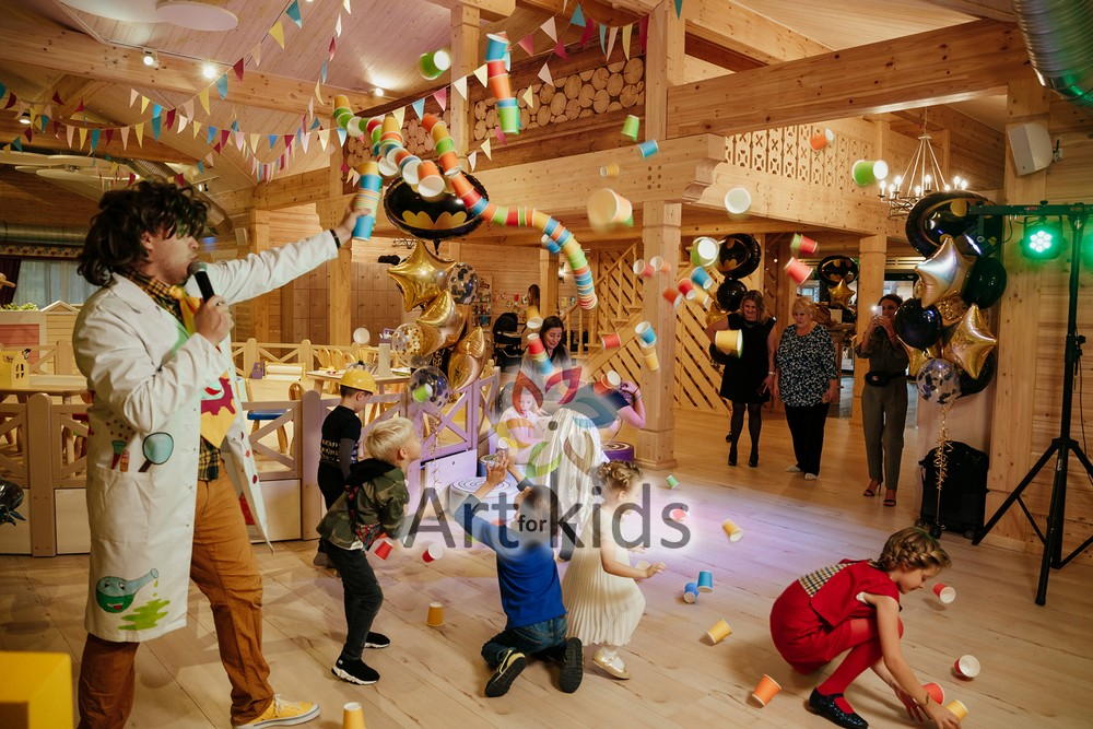 Трансформеры в Детском клубе «Индиго»