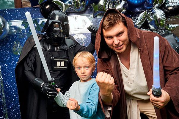 детский праздник звёздные войны дарт вейдер спб