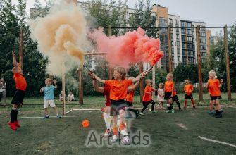 детская вечеринка в футбольном стиле в санкт-петербурге